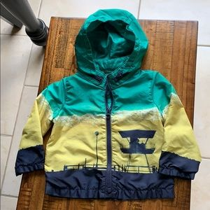 Gap baby boys hooded jacket